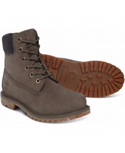 Timberland - 6IN PREM Womens A1HZM Oliv/Char Sued (901)