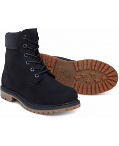 Timberland - 6IN PREM Womens A1K38 Blk/Char Sued