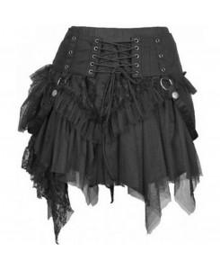 KuroNeko - Cat Skirt Minirock schwarz 205621
