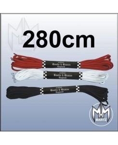 Boots & Braces - Schuhbänder 280 cm (20-Loch)