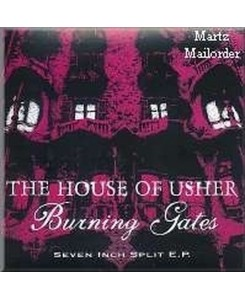 House Of Usher / Burning Gates - Split