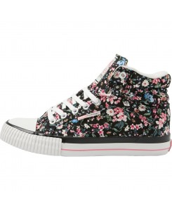 BK - DEE B39-3744-20 Black / Pink Flower (20)