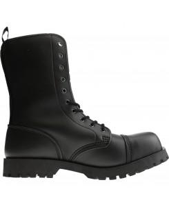 Boots & Braces - 10-Loch Vegetarian (Vegi) Schwarz
