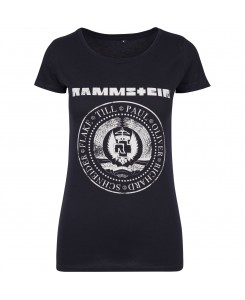 Urban Classics - Ladies Rammstein Est. 1994 Tee RS006 Navy