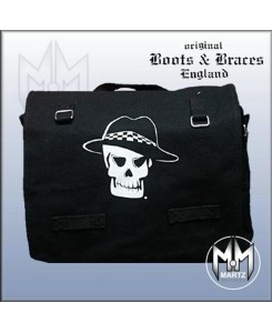 Boots & Braces - Umhängetasche Skull Schwarz