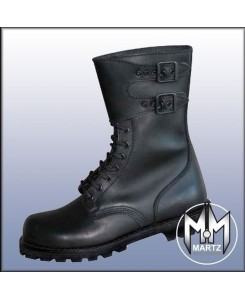 by MMB - French Rangers Army Boots Waxy Stiefel Schwarz