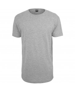 Urban Classics - TB638 Shaped Long Tee grey