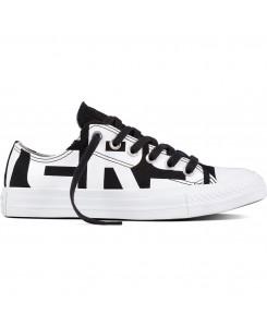 Converse - CTAS OX 159618C Black/White/White