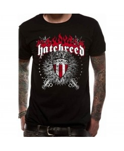 CID - HATEBREED - SKULL & MACES Logo T-Shirt