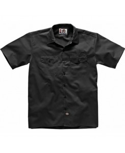 Dickies - 1574BK Short Work Shirt Schwarz