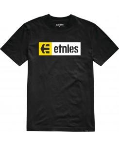 Etnies - New Box S/S Tee 4130002282 Black (001)