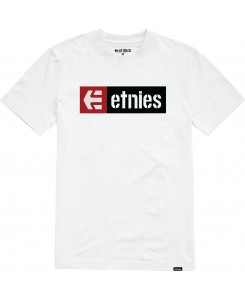 Etnies - New Box S/S Tee 4130002282 White (100)