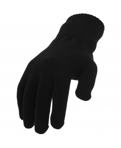 Urban Classics - TB320 Black, Knitted Gloves