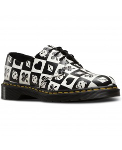 Dr. Martens - 1461 Backhand Egret 23510112 Playing Card Repeat Backhand