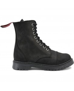 Angry Itch - 8 Loch No Steeltoe light vintage AI08L/VBL/LE Vintage black
