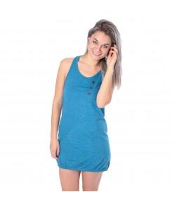 ALIFE AND KICKIN - Cameron B Dress 22204 smaragd stripes