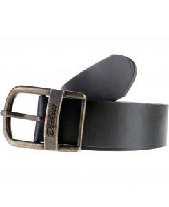Dickies - 1408410221BK Deerfield Leder Gürtel Black
