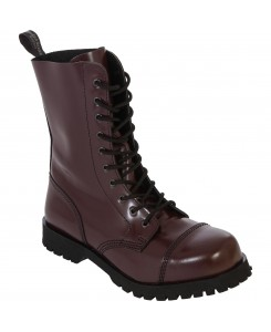 Boots & Braces - 10-Loch Stiefel Cherry Rot
