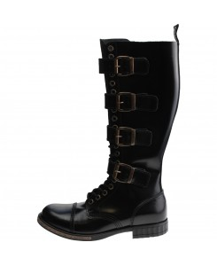 Boots & Braces - 20-Loch 4-Schnallen Steampunk