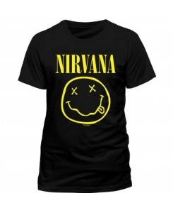 CID - Nirvana - Smiley Logo T-Shirt