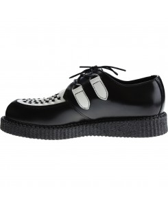 Boots & Braces - Creeper New Schwarz / Weiß