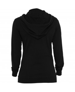 Urban Classics - TB387 black, Ladies Jersey Hoody