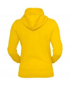 Urban Classics - TB458 yellow, Ladies Spray Dye Zip Hoody