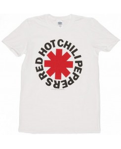 CID - RED HOT CHILI PEPPERS - Asterisk T-Shirt weiß