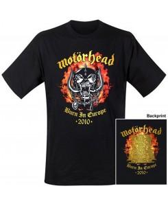 Motörhead - Flames Logo T-Shirt