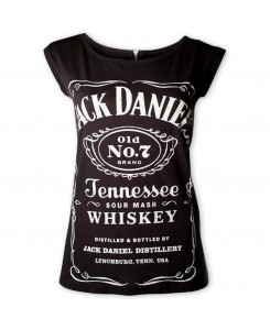 CID - JACK DANIELS Lady Zipper Top