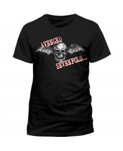 CID - AVENGED SEVENFOLD - DEATH BAT GLOW Logo T-Shirt