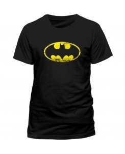 CID - BATMAN - DISTRESSED Logo T-Shirt