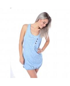 ALIFE AND KICKIN - CAMERON A Dress 22157 light denim