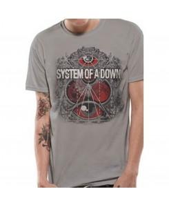CID - SYSTEM OF A DOWN - MATHEMATICS T-Shirt Grau