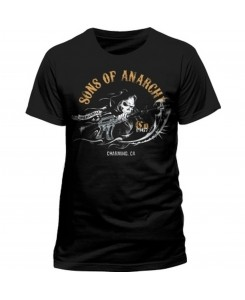 CID - SONS OF ANARCHY - CHARMING Logo T-Shirt