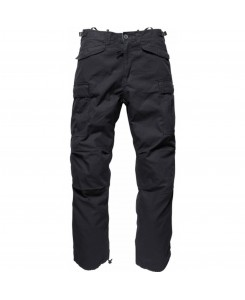 Vintage Industries - Ripstop Pant Black