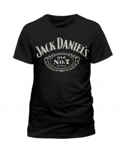 CID - JACK DANIELS Chest Logo T-Shirt