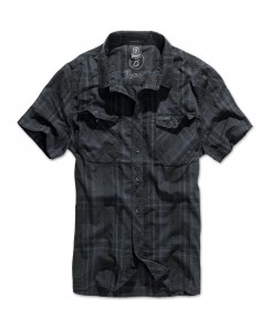 Brandit - Roadstar Shirt 1/2 Sleeve 4012-29 Black/Blue