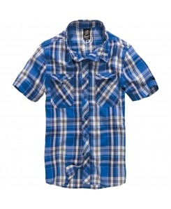Brandit - Roadstar Shirt 1/2 Sleeve 4012-53 Blue