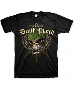 ROCKOFF - Five Finger Death Punch Mens Tee: Warhead
