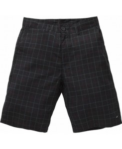 Vintage Industries - Detroit Short Black Check