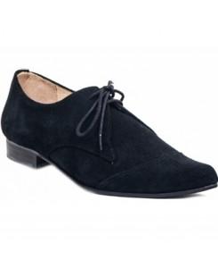 Boots & Braces - Winkelpiker Classic Suede schwarz