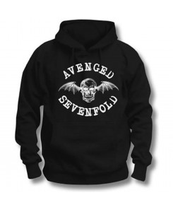 ROCKOFF - Avenged Sevenfold Men's Hooded Top: Logo