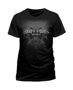 CID - WITHIN TEMPTATION - HYDRA GREY MEN Logo T-Shirt