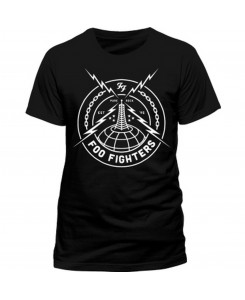 CID - Foo Fighters - Black Strike Logo T-Shirt