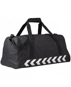 Hummel - Authentic Sports Bag Black/Silver 40957 2250