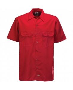 Dickies - SHRT/S Work Shirt 1574 English Red