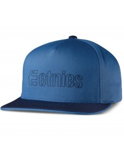Etnies - Herren Cap Corporate Snapback Navy Royal
