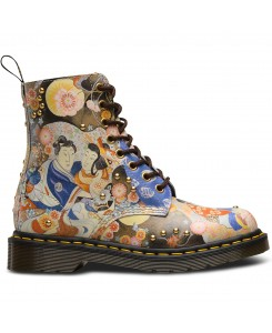 Dr. Martens - Pascal EA Straw Grain 23326102 Multi Oriental Backhand