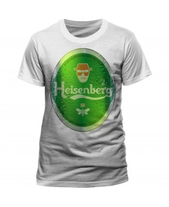 CID - BREAKING BAD - Heisenberg Bier Logo T-Shirt